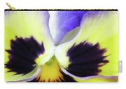 Pansy 10 - Thoughts Of You Carry-all Pouch