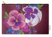 Pansy Grandeur Carry-all Pouch