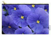 Pansy Profusion Carry-all Pouch