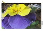 Pansy Squared Carry-all Pouch