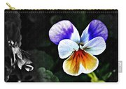 Pansy Statement Carry-all Pouch