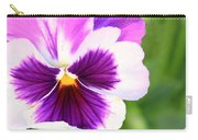 Pansy Wave Carry-all Pouch