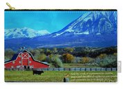 Paonia Mountain And Barn Carry-all Pouch