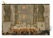 Papal Ceremony In St Peter In Rome Under The Canopy Of Bernini Carry-all Pouch