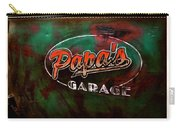 Papa's Garage Carry-all Pouch