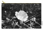 Paper Flower In B And W Carry-all Pouch