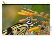 Paper Kite Butterfly With Orange Flower Carry-all Pouch