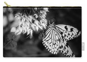 Paper Kite In Black And White Carry-all Pouch