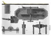 Paper Mill Diagram, 1814 Carry-all Pouch