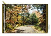 Paper Mill Trail, Framed Carry-all Pouch