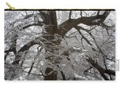 Paper Mulberry In Infrared Carry-all Pouch