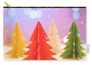Paper Trees Carry-all Pouch
