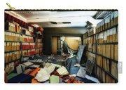 Papers Lodging - Luoghi Abbandonati Delle Passeggiate A Levante Deposito Carte  Carry-all Pouch by Enrico Pelos