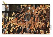 Papery Beech Leaves Carry-all Pouch
