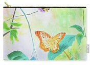 Papillon Carry-all Pouch