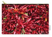 Paprika Peppers At A Market Stall. Carry-all Pouch