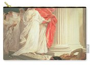 Parable Of The Wise And Foolish Virgins Carry-all Pouch by Baron Ernest Friedrich von Liphart