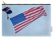 Parachute And Flag Carry-all Pouch