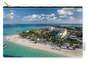 Paradise - Isla Mujeres - Playa Norte, Aerial Image Carry-all Pouch