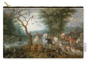 Paradise Landscape With Animals Carry-all Pouch