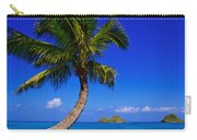 Paradise Palm Over Lanikai Carry-all Pouch