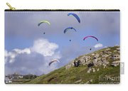 Paragliding Over Sennen Cove Carry-all Pouch
