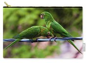 Parakeet Couple Carry-all Pouch