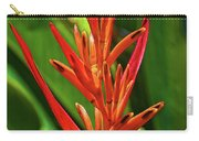 Parakeet Flower Exotic Carry-all Pouch