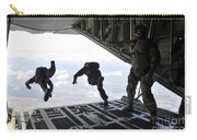 Paratroopers With The Spanish Military Carry-all Pouch