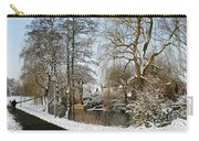 Walk In A Snowy Park Carry-all Pouch