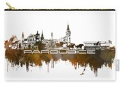 Pardubice Skyline City Brown Carry-all Pouch