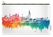 Pardubice Skyline City Color Carry-all Pouch