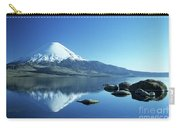 Parinacota Volcano Reflections Chile Carry-all Pouch