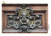 Paris - 19th Century Brass Door Knocker Carry-all Pouch