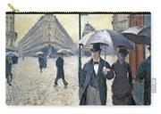 Paris A Rainy Day Carry-all Pouch