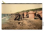 Trouville France Beach - The Good Old Days Carry-all Pouch