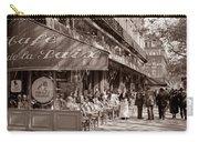 Paris Cafe 1935 Sepia Carry-all Pouch