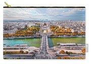 Paris City View 19 Art Carry-all Pouch