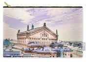 Paris City View 22 Art Carry-all Pouch