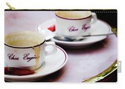 Paris Coffee Cups Carry-all Pouch