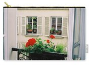 Paris Day Windowbox Carry-all Pouch