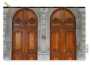 Paris Doors Carry-all Pouch