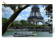 Paris Eiffel Boat Carry-all Pouch