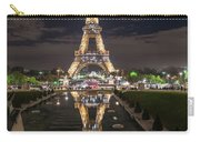 Paris Eiffel Tower Dazzling At Night Carry-all Pouch