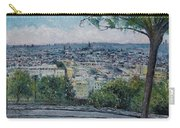 Paris From The Sacre Coeur Montmartre France 2016 Carry-all Pouch