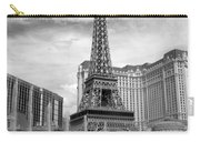 Paris Hotel - Las Vegas B-w Carry-all Pouch