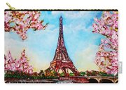 Paris In Springtime Carry-all Pouch