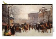 Paris In Winter Carry-all Pouch