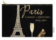 Paris Is Always A Good Idea - Audrey Hepburn Carry-all Pouch
