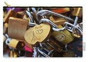 Paris Love Locks Paris France Color Carry-all Pouch